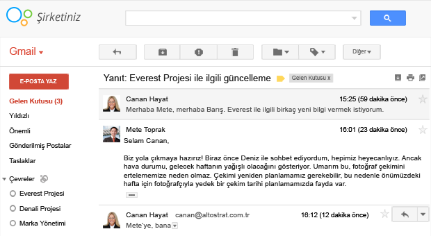 Google Apps E-mail