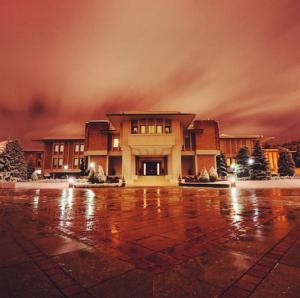 Çankaya Köşkü Kış manzarası Instagram