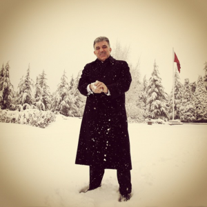 Abdullah Gül Kartopu Instagram Fotoğrafı