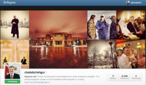 Cumhurbaşkanı Abdullah Gül'ün Instagram Hesabı