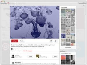 yeni pinterest pin sayfası