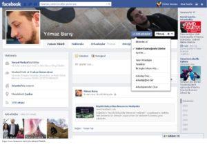 Facebook Yeni Profil Sayfası Tasarımı