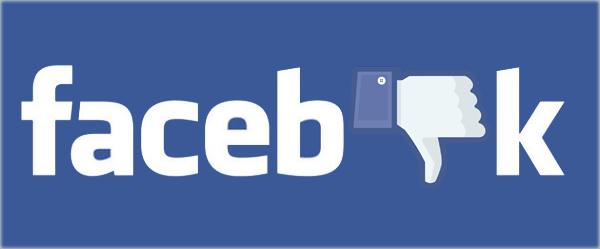 Facebook çöktü dislike logo