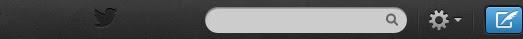 Twitter eski arayüz tasarım bar