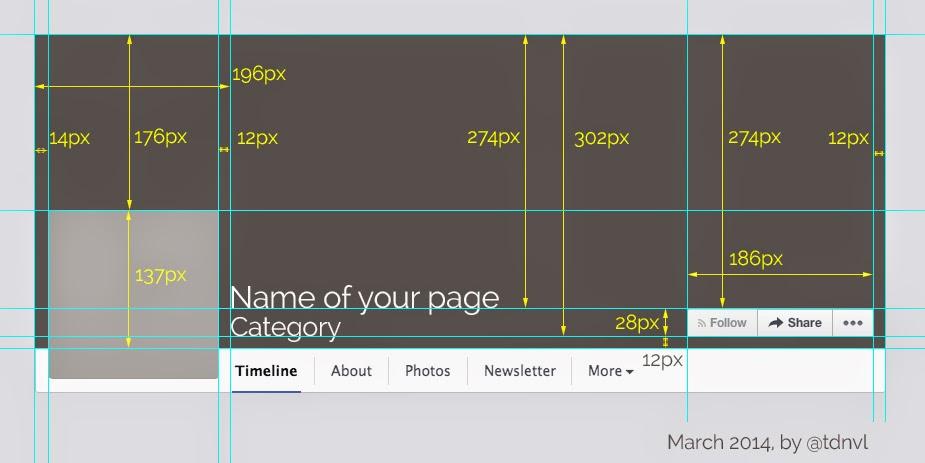 Facebook kapak profil fotoğrafı boyutları 2014