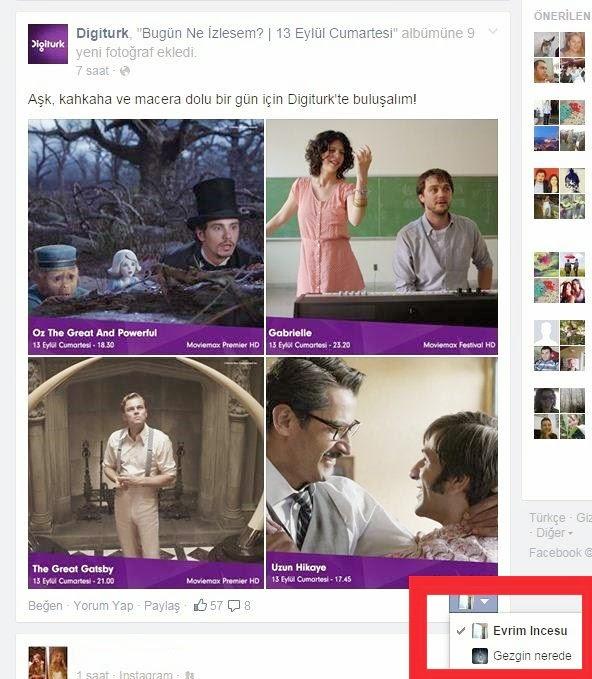 Facebook paylaşımları sayfa-profil hesap karışıklığı giderici özellik