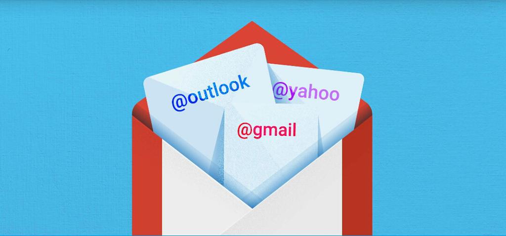 Gmail Uygulaması ile Hotmail Yahoo ve Diğer Maillerinizi de Yönetin