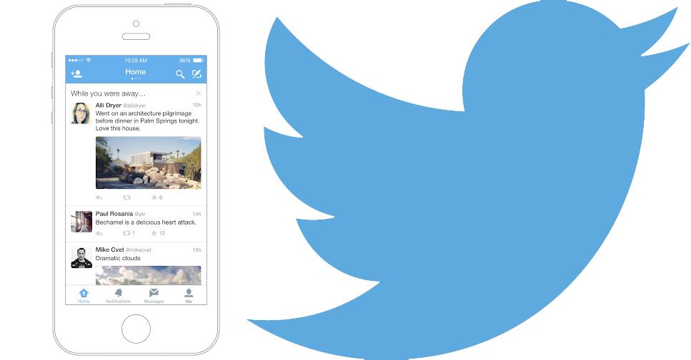 Siz Twitter'da yokken twitter ios yeni özellik siz burada yokken