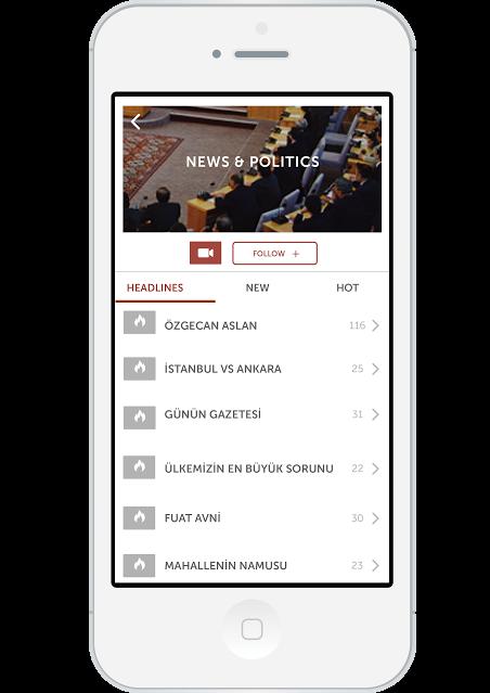Scorp App Türk sosyal medya girişimi