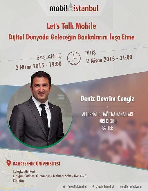mobil istanbul Deniz Devrim Cengiz dijital bankacılık