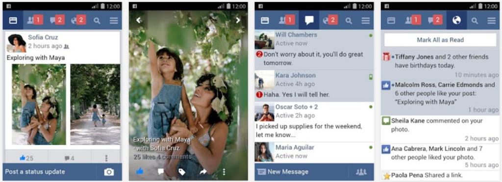 Facebook Lite Android uygulaması güncellendi!