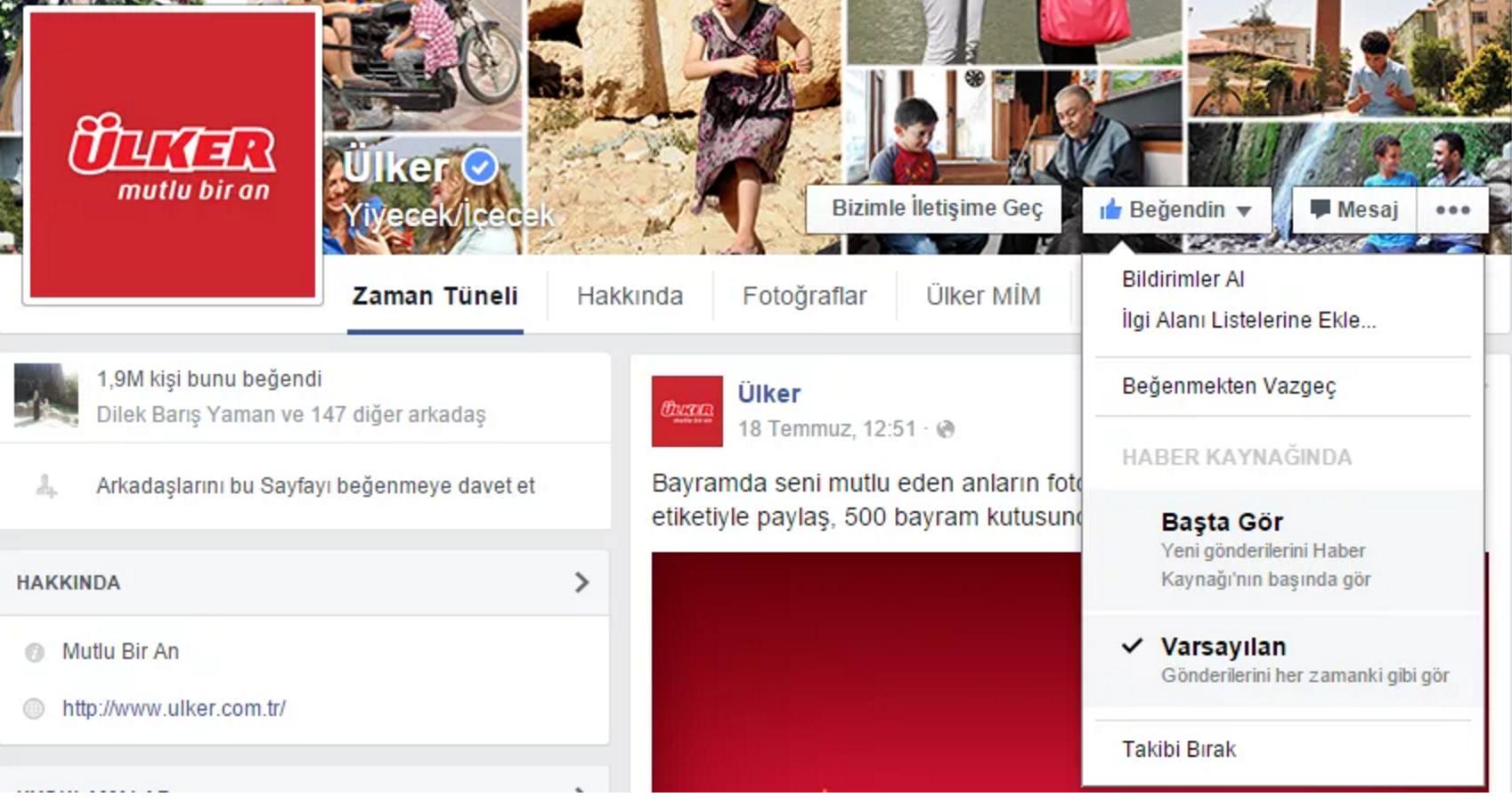 facebook bildirimleri al haber kaynağında başta gör