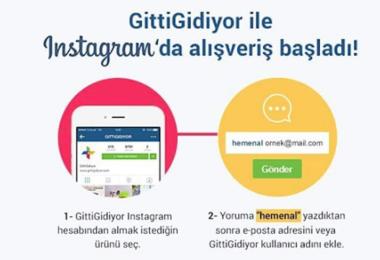 GittiGidiyor Instagram Alışveriş Satış E-ticaret
