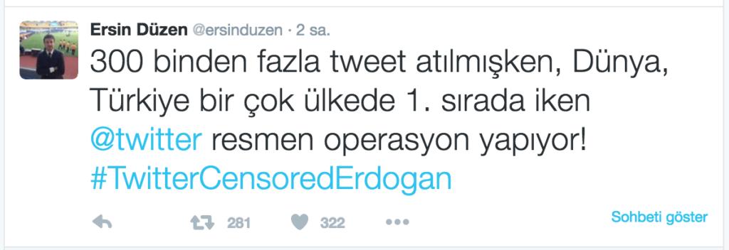 WeLoveErdogan Twitter Sansür Erdoğan 2