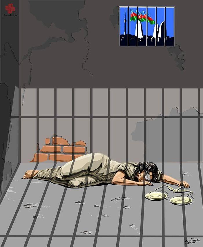 İllüstratör Adalet ve Azerbaycan by Gündüz Agayev