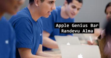 Apple Genius Bar Randevu Alma