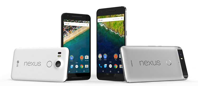 google nexus telefon
