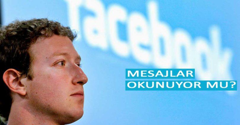 Facebook Mesajları Okunuyor mu?