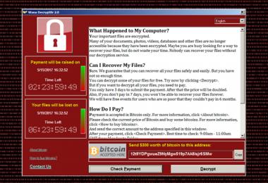 WannaCry virüsü fidye yazılımı korunma windows güncellemesi
