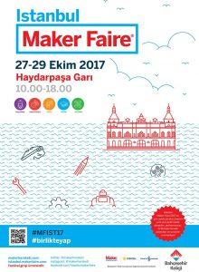 Maker Fair İstanbul Afiş