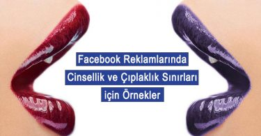 facebook reklamları cinsellik ve çıplaklık nedeniyle onaylanmayan reklamlar