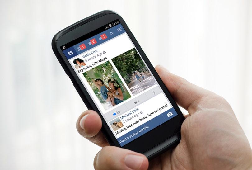 Facebook Lite Android Uygulaması güncellendi.