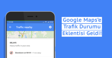 Google Maps Trafik Durumu eklentisi Traffic Nearby