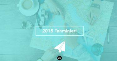 2018 turizm tahminleri