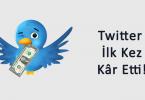 Twitter kar etti