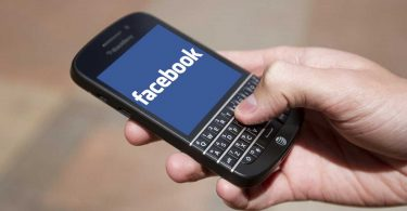 blackberry facebook patent