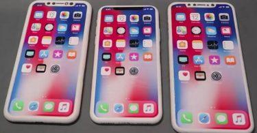 iphone x yeni modeller sızdırıldı