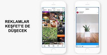 instagram reklam keşfet akışı